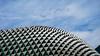 Esplanade (dgarcia_) Tags: singapur singapore marina bay gardens by leds lights city sky scratcher rascacielos laser flower dome helix bridge esplanade theater teatro