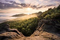 Ein magischer Morgen in der Sächsischen Schweiz (Philipp Zieger - www.philippzieger-photographie.de) Tags: