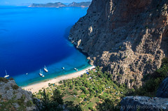 Secluded Beach @ Butterfly Valley, Faralya, Fethiye, Muğla, Turkey (Feng Wei Photography) Tags: traveldestinations fethyie landscape landmark eastasia vacation euroasia turkeymiddleeast paradise mediterraneanturkey coastline oludeniz bayofwater travel secluded lycianway outdoors relaxed horizontal lycia muglaprovince highangleview scenics colorimage sea remote ölüdeniz beach turquoisecolored beautyinnature uzunyurt gettingawayfromitall cliff famousplace turquoisecoast highup turkishculture tourism mediterraneansea turkish