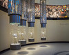 Lombardi Trophy Lineup at Packers Hall of Fame (PopsDigital) Tags: billpevlor popsdigital color colour landscape horizontal lambeau lambeaufield packers greenbay greenbaypackers football nfl halloffame greenbaypackershalloffame packershalloffame lombarditrophy lombarditrophies lombardi gold exhibit museum sports fans footballgreats trophies showcase showcases four sonyslta77v
