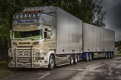 Team Höga Kusten (johan.bergenstrahle) Tags: 2017 finepics august augusti fordon hdr lastbil morgon morning scania sommar summer sverige sweden truck vehicle vännäs