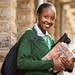 Student at school, Kenya, 2017