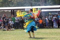 HIAM - Fancy Shawl Dance 2 (D Johnston) Tags: lawrencekansas haskellindiannationsuniversity blue