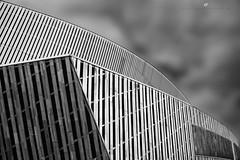 absarchi (senn_b) Tags: mons monsinternationalcongressxperience belgium belgië belgien belgique hainaut hainault abstract blackandwhite architecture schwarzweiss noiretblanc monochrome géométrie geometry lines curves mono architekture architectuur wallonia wallonie bergen modern carlzeiss35mmf2distagontzk distagont235 pentaxart