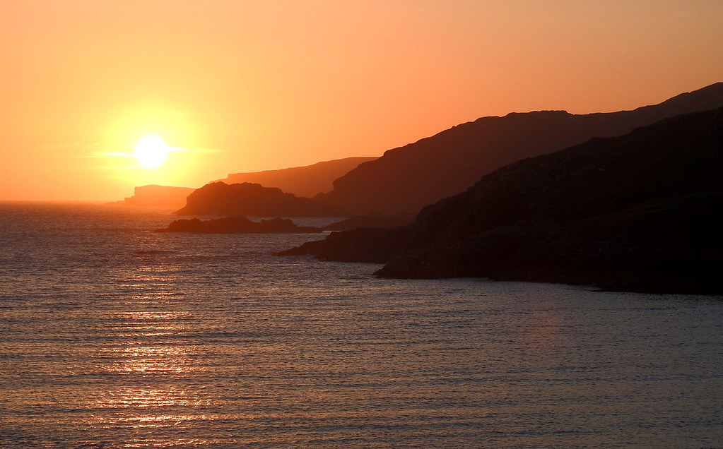 scourie bay sunset 2