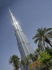 Burj Khalifa, el edificio más alto del mundo, Dubai, EAU