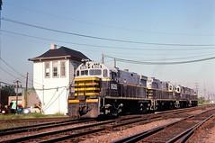 BRC 605 at Franklin Park, IL (dl109) Tags: beltrailwayofchicago c424