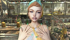 Lily (clau.dagger) Tags: insol makeup brows lips catwa uber astralia nail polish n21 tram volutptasvirtualis maitreya drd nomad applefall bodylanguage secondlife fashion avatar decor