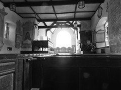 27vii2017 Stokesay 30 (garethedwards36) Tags: church monochrome blackandwhite chapel lumix stokesay shropshire uk