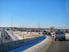 On Flyover from I-435 West to I-35 South, 18 Dec 2016 (photography.by.ROEVER) Tags: lenexa kansas usa 2016 december2016 december drive driving driverpic road highway interstate ramp flyover i435 i35