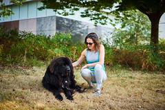 Nikki and puppy