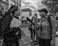 South Street, 2017 (Alan Barr) Tags: philadelphia 2017 southstreet street sp streetphotography streetphoto blackandwhite bw blackwhite mono monochrome city group candid people olympus omd em5