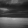 Boarder control (Scott Baldock) Tags: shoebury nikon 85mm 18 seascape moody skies estuary essex mono minimal