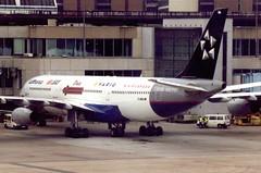 D-AIBA Frankfurt 9 June 2001 (ACW367) Tags: daiba airbus a340200 lufthansa frankfurt
