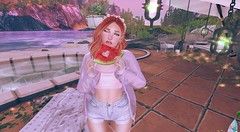 Endless summer (şţαгвøi) Tags: summer femboi secondlife watermelon boi trap pink