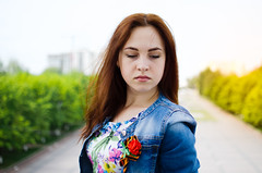 Dasha (ivan_volchek) Tags: portrait beautiful summer nature girl people outdoors park young lifestyle grass field outside leisure light