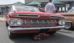1959 Chevrolet Impala (faasdant) Tags: untouchable car show kalama washington wa usa 2017 1959 chevy chevrolet impala 2door hardtop roman red
