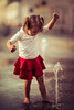 Where there is water there is joy. (icarium82) Tags: child portrait face bnw kind color colour street water fountain joy spring canonef85mmf12liiusm canon eos 6d bw people dream