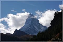 Matterhörn (Max Ange74) Tags: mountain montagne landscape paysage clouds nuages cervin matterhorn zermatt suisse switzerland valais summit