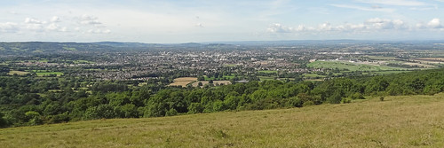 Looking over Cheltenham