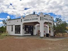 Van Horn, Texas (Jasperdo) Tags: vanhorn texas roadtrip gasstation servicestation building architecture magnoliastation sinclair