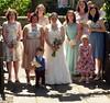 P1040108 - Lesbury - St Mary - 2017-06-17 - Brydie and Barry - Brydie and Bridesmaids and a Page Boy (GeordieMac Pics) Tags: ©2017georgemcvitieallrightsreserved wedding 20170617 brydieandbarry stmarys parish church lesbury northumberland geordiemac panasonic lumix dmc fz200 familyandfriends peoplearriving bridesmaids brydie pageboy