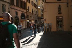 Florence /Street (New unicorn) Tags: street streetphotography scene shadows scenery sunlight summicron sunset sun peaceful people photography florence landscape clouds shadow building beautiful architecture alley