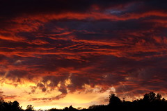 Sunset 8 19 17 #20 (Az Skies Photography) Tags: sun set sunset dusk twilight nightfall clouds cloud red orange yellow gold golden salmon black rio rico arizona az riorico rioricoaz sky skyline skyscape arizonasky arizonaskyline arizonaskyscape arizonasunset canon eos 80d canoneos80d eos80d canon80d august 19 2017 august192017 81917 8192017
