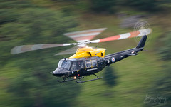 'Back to School' (benstaceyphotography) Tags: lfa17 helicopter defencehelicopterflyingschool lakedistrict lowlevel zj234 raf bell griffin ht1 60 r squadron shawbury chopper military cumbria aviation cobham rotors rotory motion blur panning