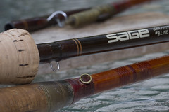 Timeless Quality (brucetopher) Tags: macromondays evolution evolve graphite bamboo fishingrod fishing sportingequipment outdoors outdoor outside sage perfection hadcrafted timeless change material performance rod handle eye eyelet hookkeeper keeper handmade brown