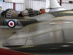 "De Havilland Vampire FB.6 9 • <a style=""font-size:0.8em;"" href=""http://www.flickr.com/photos/81723459@N04/36909045896/"" target=""_blank"">View on Flickr</a>"