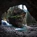 Secret Cave in Johnston Canyon