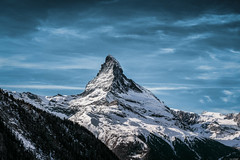 The peak (Rico the noob) Tags: dof landscape nature d500 mountains outdoor 2016 clouds trees zermatt tree schweiz forest published sky snow outlook switzerland 1835mm 1835mmf18
