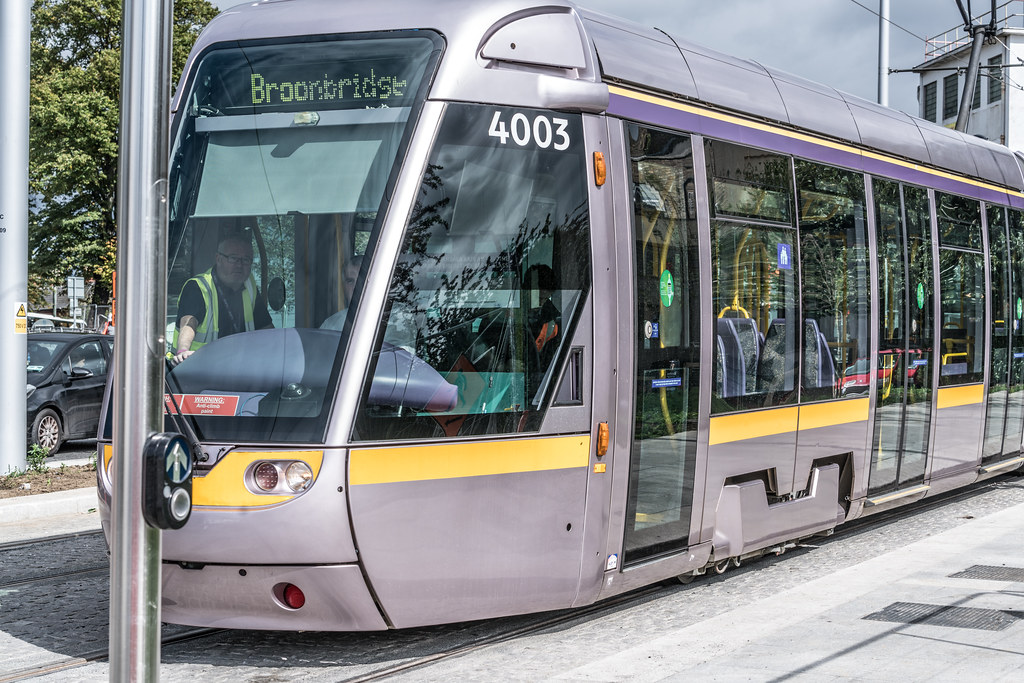 THE NEW LUAS TRAM STOP AT BROADSTONE [TESTING PHASE UNTIL EARLY DECEMBER]-1324696