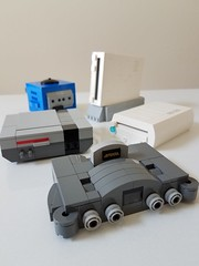 Lego Nintendo Video Game Consoles (-Solid-State-) Tags: video game nintendo console lego custom system moc