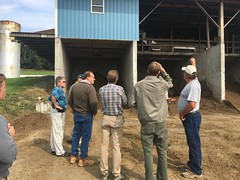MABEX Bus Tour stops at Schrack Farm (pabiomass) Tags: biogas anaerobic digester mabex conference tour