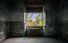 Manicomio Vendetta abandoned psychiatric hospital