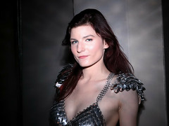 Red Sonja (Caitlin) (greyloch) Tags: dragoncon cosplay magmod 2017 canonrebelt6s redsonja costume pretty armor chainmail comicbookcostume comicbookcharacter niksoftware