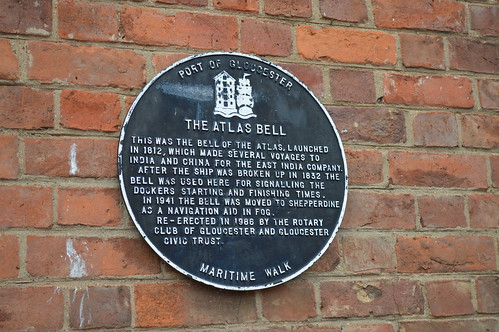 Atlas Bell plaque