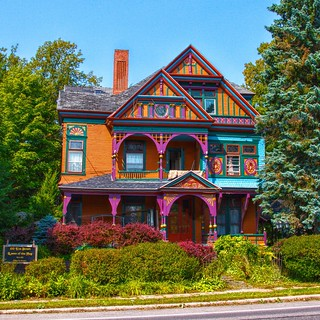 Malone New York  ~ Queen of the May ~  Queen Anne Architecture  ~