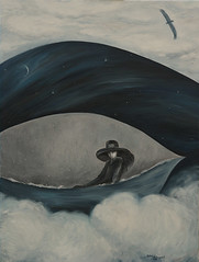 "Painting by Natali Antonovich ""Blue study"" (Natali Antonovich) Tags: bluestudy nataliantonovich oilonlinencanvas oil canvas art heartonsnow painting paintingbynataliantonovich painter pictorialart"