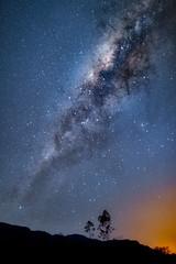 Milky Way (Valter Patrial) Tags: milkyway stars goiás brasil br sky land landscape tree silhouettes