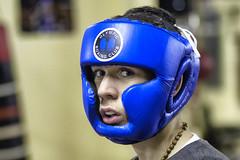 In the blue corner (Frank Fullard) Tags: frankfullard fullard candid portrait blue sport boxer boxing hear headwear protection westport covey mayo irish ireland iaba amateur pugilist