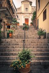 Taormina Stairs II (rodriguesfhs) Tags: taormina italy italia sicily sicilia stairs flowers architecture