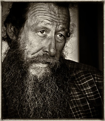 Rough-and-ready (Neil. Moralee) Tags: middevonshow2017neilmoralee neilmoralee man face portrait beard long rough ready rude rudely crude sufficient unpolished strong purposeful powerful mature old rustic rural wrinkes wrinkled worn battered weather beaten male country devon county uk farmer farm close neil moralee nikon d7200 candid