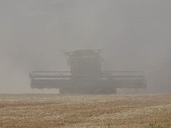 Aug3,2017 DSC00213 Combine in the dust and smoke (terrygray) Tags: scenic palouse harvest forestfiresmoke