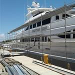 Marine scaffold by USA Shrinkwrap