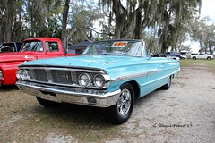 1964 Ford Galaxie 500 Convertible (Gerald (Wayne) Prout) Tags: 1964fordgalaxie500convertible 1964 ford galaxie 500 convertible 2017winterfloridaautofestlakeland lakelandlinderregionalairport cityoflakeland polkcounty florida usa prout geraldwayneprout canon canoneos60d carshow autofest lakeland polk county cars winter automobile classic vintage historical eos 60d vehicle regional linder airport