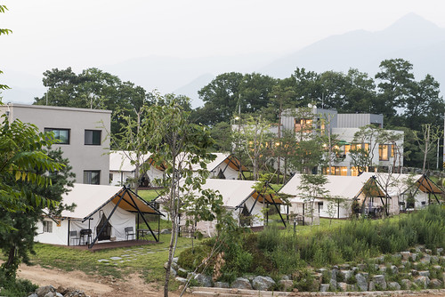 canvas glamping tent Korea6