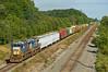 CSXT 7634, CSX Garrett Subdivision, St. Joe, Indiana (monon738) Tags: train railroad railway railfanning locomotive diesellocomotive engine pentax k20d indiana dekalbcounty unit csx7634 csxq393 csxtransportation csx csxt ge gec408 c408 dash840c dash8 freighttrain csxgarrettsubdivision smcpda50135mmf28edifsdm